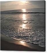 Ocean - Gentle Morning Waves Canvas Print