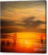 Gentle Sunset Vision Canvas Print