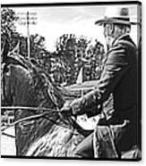 Gentleman Rider Canvas Print