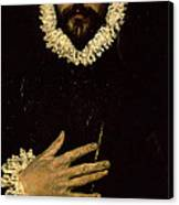 Gentleman With His Hand On His Chest Canvas Print