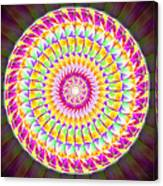 Geo Master Eleven Kaleidoscope Canvas Print