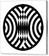 Geomentric Circle 4 Canvas Print