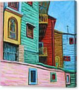 Geometric Colours II Canvas Print