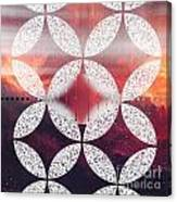 Geometric Elevator To The Universe Canvas Print