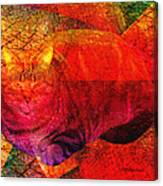Geometric Kitty Canvas Print
