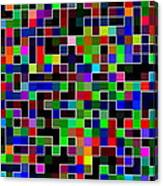 Geometric Pattern 2 Canvas Print
