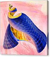 Geometric Shell Art Canvas Print