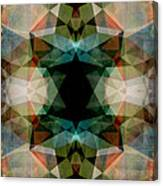 Geometric Textured Abstract  Canvas Print