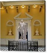 Georg Washington Statue - Capitol Richmond Canvas Print