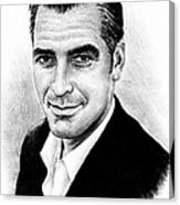 George Clooney Canvas Print