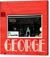 George Diner Canvas Print