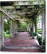 George Eastman Home Pergola Rochester Ny  Canvas Print