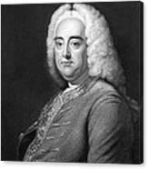 George Frederic Handel Canvas Print