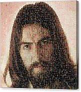 George Harrison Mosaic Image 1 Canvas Print