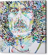 George Harrison Portrait.2 Canvas Print