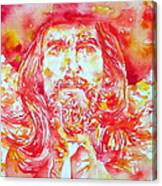 George Harrison With Hat Canvas Print