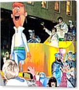 George Jetson Poster Canvas Print