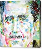 George Orwell Canvas Print