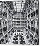 George Peabody Library Iv Canvas Print