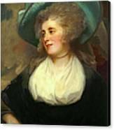 George Romney, British 1734-1802, Lady Arabella Ward Canvas Print