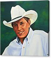 George Strait Canvas Print