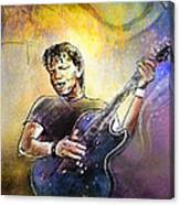George Thorogood In Cazorla In Spain 02 Canvas Print
