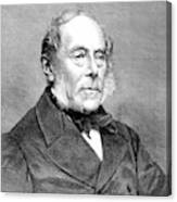 George Villers (1800-1870) Canvas Print