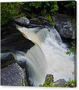 George W Childs Park Waterfall Canvas Print