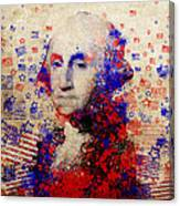 George Washington 3 Canvas Print