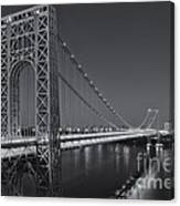 George Washington Bridge Twilight II Canvas Print