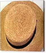 George Wilcox Hat Canvas Print