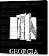 Georgia Guidestones Movie Poster Canvas Print