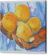Georgia Peach Canvas Print