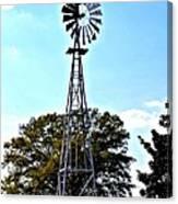 Georgia Windmill Canvas Print