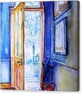 Winter Doorway Ireland    Canvas Print