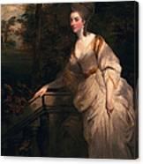 Georgiana Cavendish, Duchess Canvas Print
