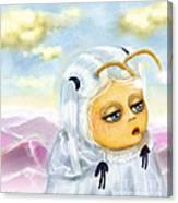 Georgina Deep In Thought Canvas Print