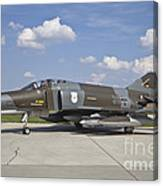 German Air Force F-4f Phantom II Canvas Print