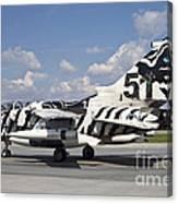 German Air Force Tornado Aircraft Canvas Print