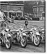 German Chariots At Potsdam Canvas Print