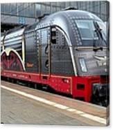 German Electric Train Munich Germany Canvas Print