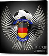 German Soccer Champions Canvas Print