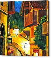 German Town Canvas Print