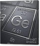 Germanium Chemical Element Canvas Print