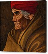 Geronimo At 77 Canvas Print