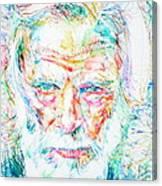 Gerry Mulligan - Portrait Canvas Print