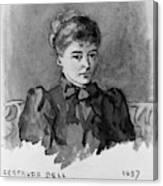 Gertrude Bell (1868-1926) Canvas Print