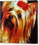 Gertrude Roo Canvas Print