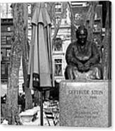 Gertrude Stein Canvas Print