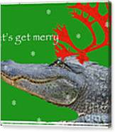 Get Merry Canvas Print